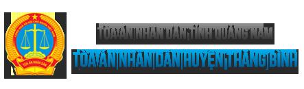 Trang thông tin điện tử Tòa án nhân dân huyện Thăng Bình